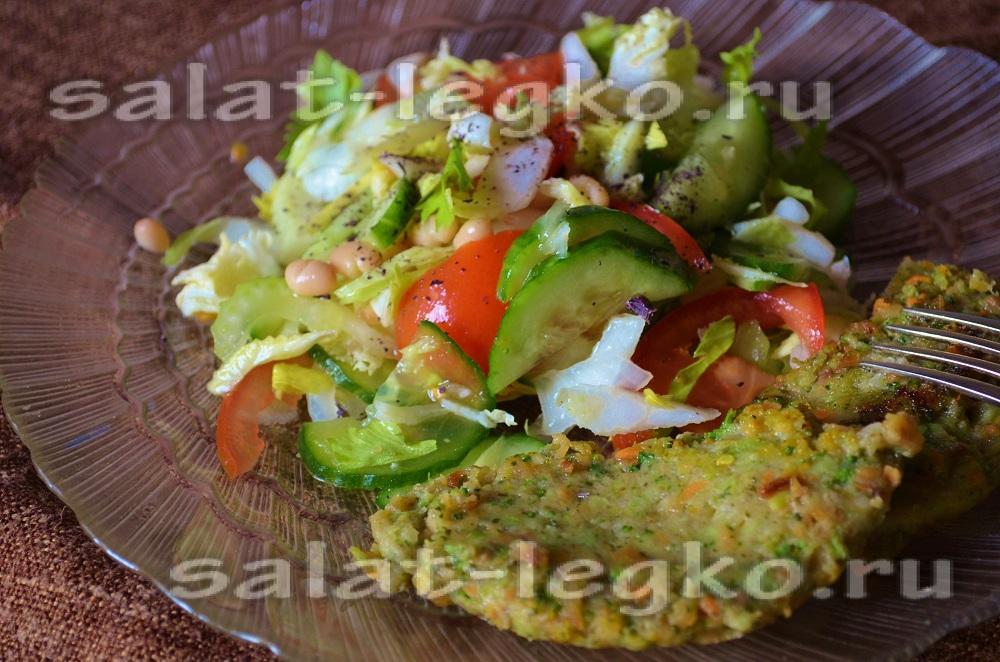 Салат с сельдереем чем заправить