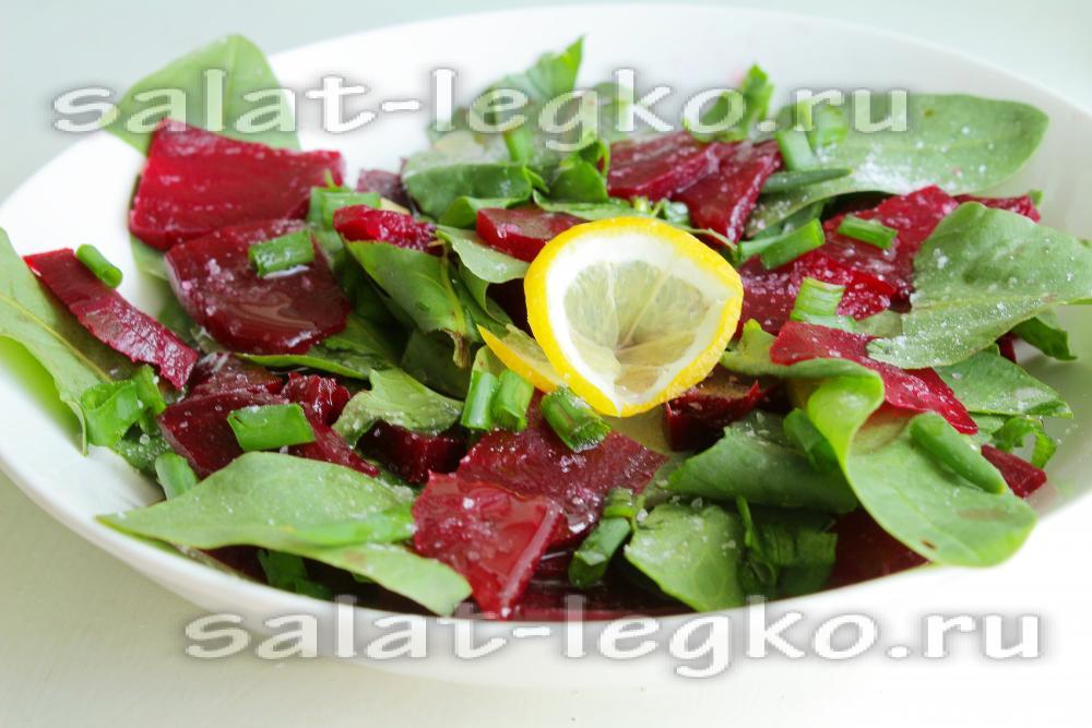 Свекольная заправка для салатов