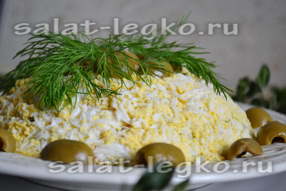 рецепт салат авокадо с печенью трески рецепт