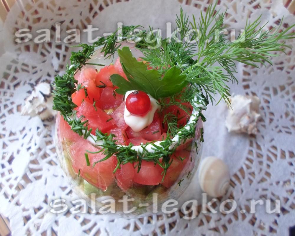 Вкусные заготовки на зиму: салат Огонек