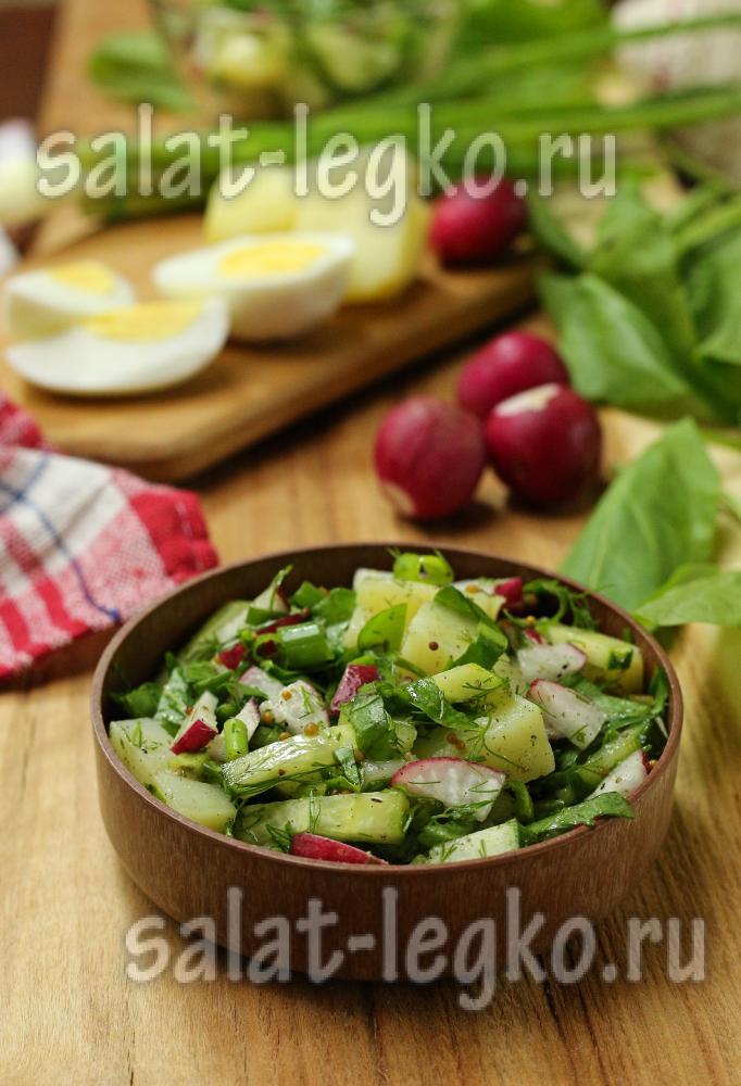 Салат со щавелем рецепт с