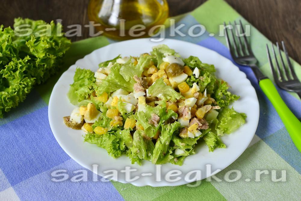 Салаты с консервированным тунцом рецепты с простые и вкусные рецепты