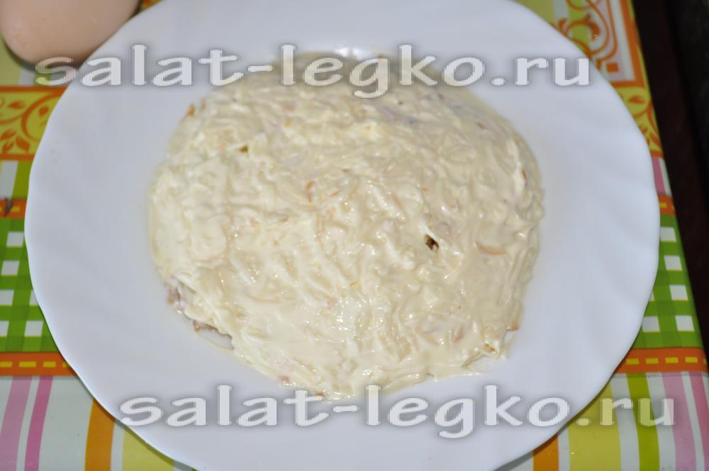 Салат мимоза рецепт с копченой рыбой