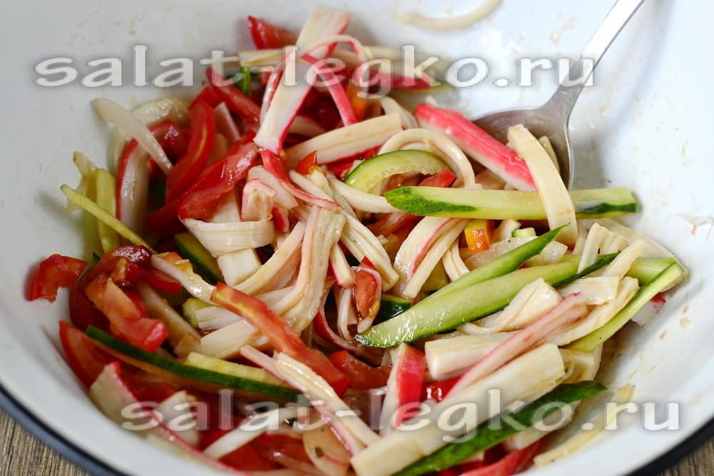 Овощное салат на зиму рецепты