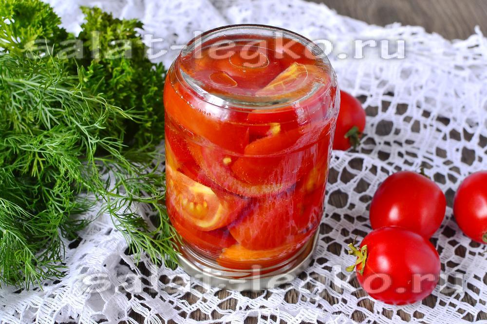 Салат помидоры с морковью на зиму рецепты