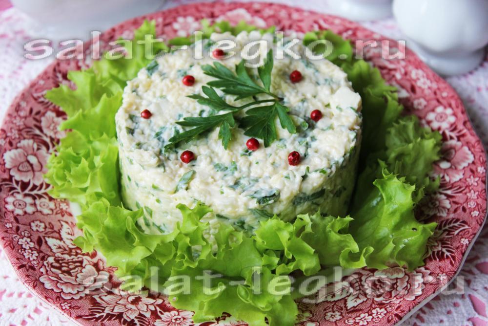 салаты с шпротами рецепты с фото