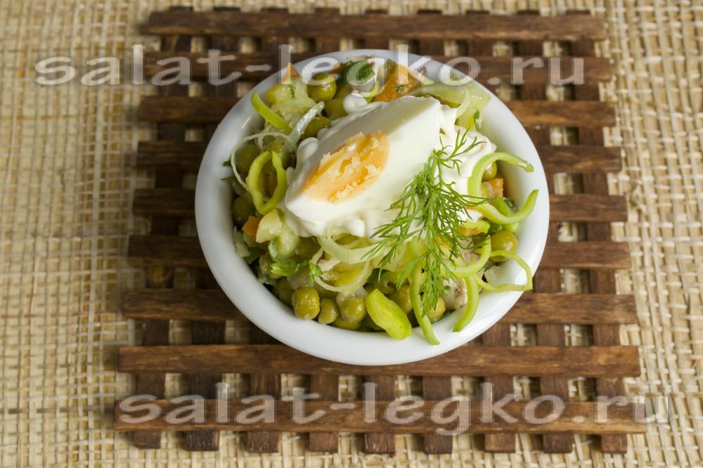 картофельный салат по американски классический рецепт