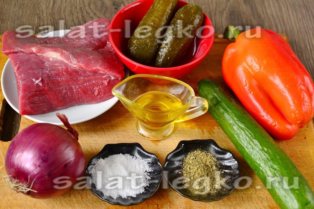 Рецепты салатов со сладким перцем на зиму рецепты
