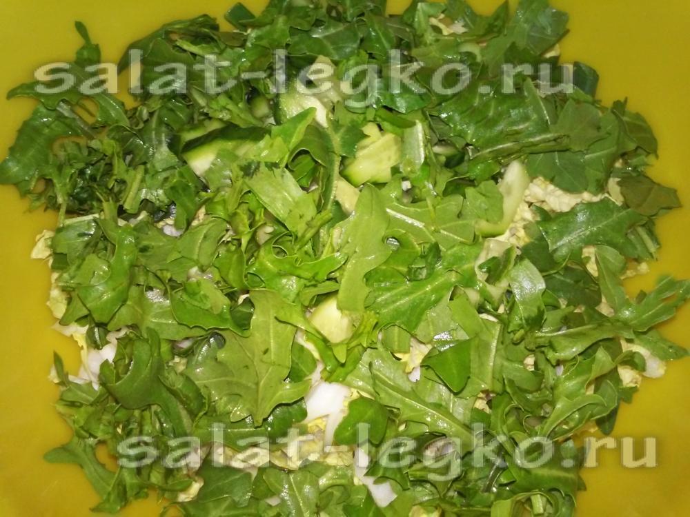 рецепт салат с пекинской капустой с огурцами