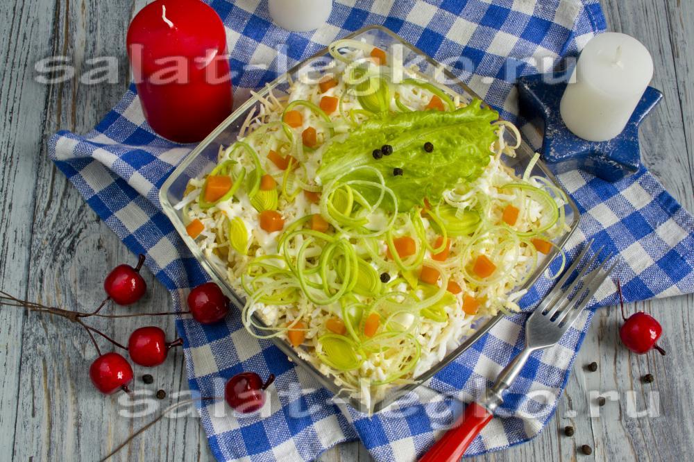 рецепт салата с крабовым мясом помидором