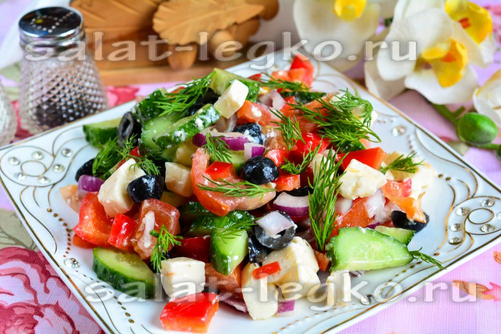 Как украсить салат из морепродуктов