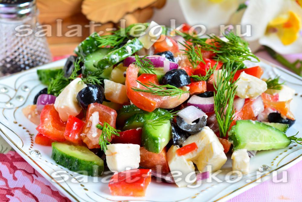Как приготовить салаты рецепты с греческий