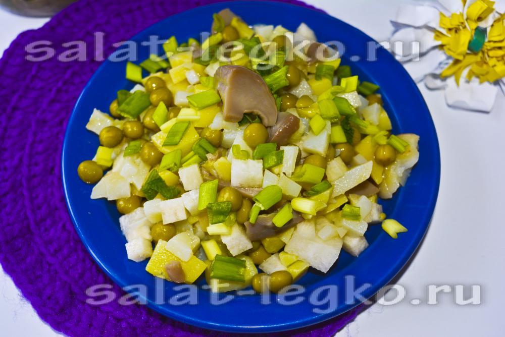 диетический салат из говядины рецепт и фото