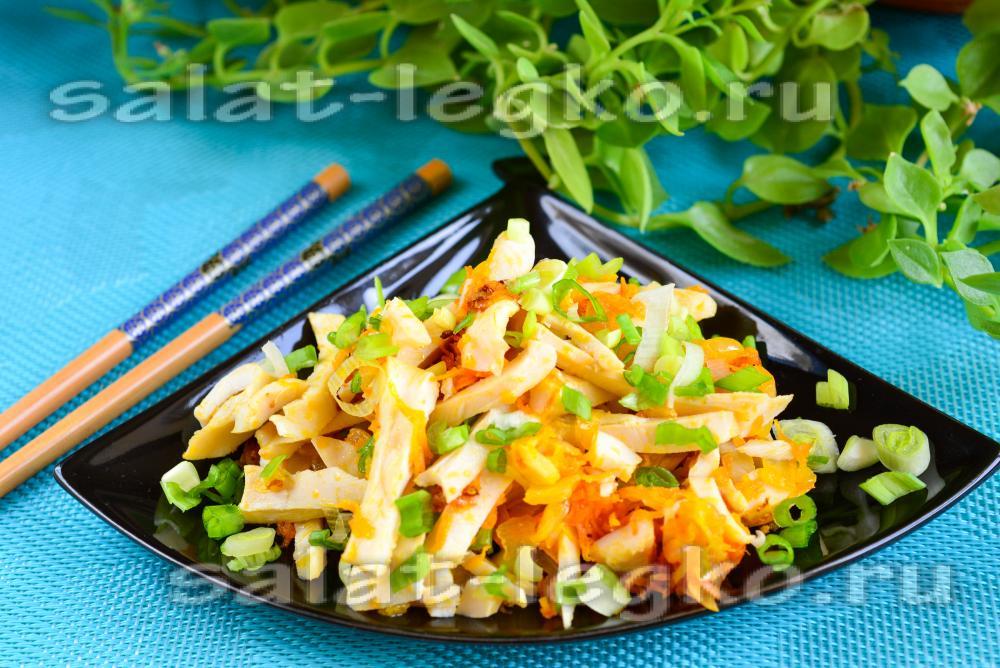 168Рецепт салата из морепродуктов с икрой красной рецепты