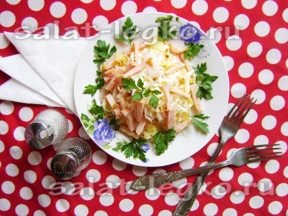 Салаты для пикника рецепты