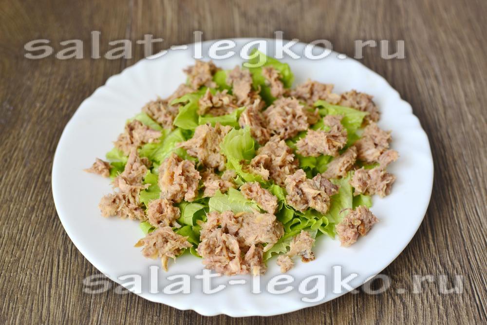 Салат с сыром фетаки фото