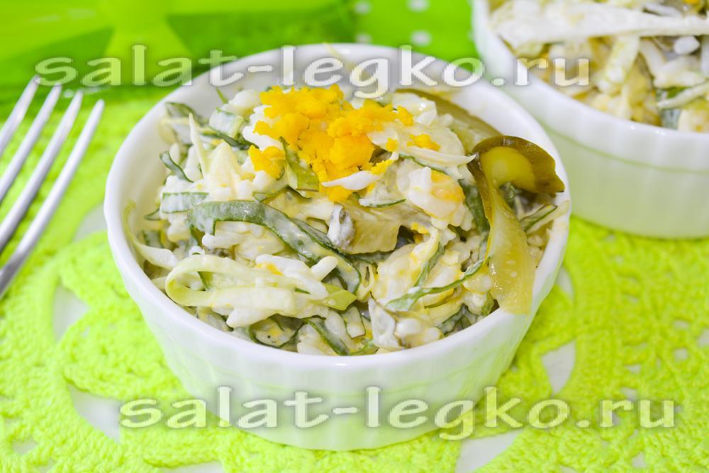 Корейский салат из капусты, моркови и свеклы: рецепт