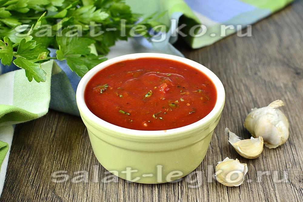 Рецепт соуса с кинзой для шашлыка