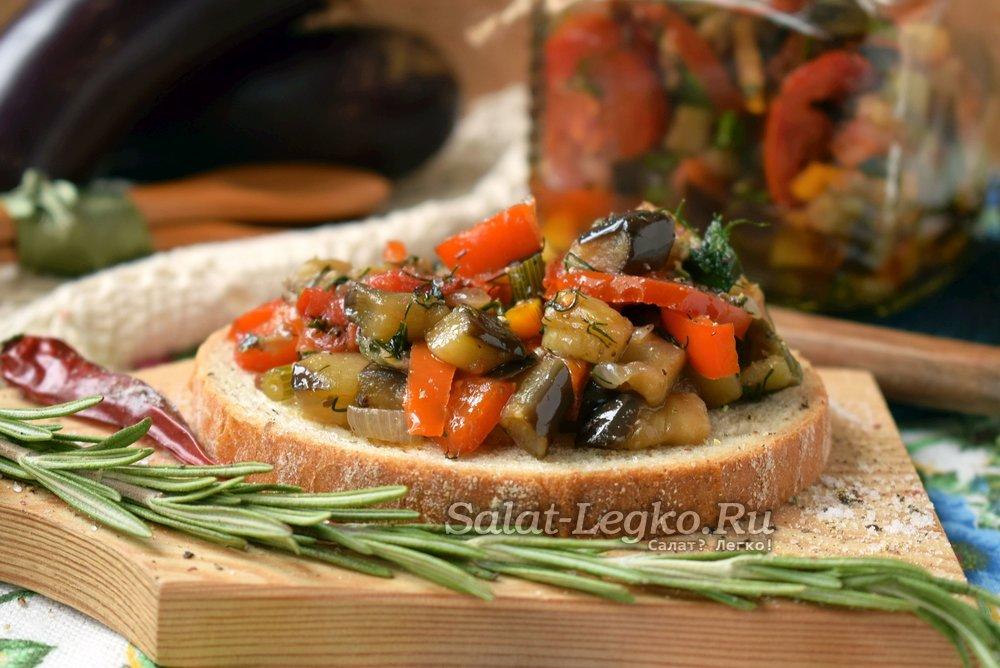 Теплый салат с курицей и болгарским перцем рецепт 54