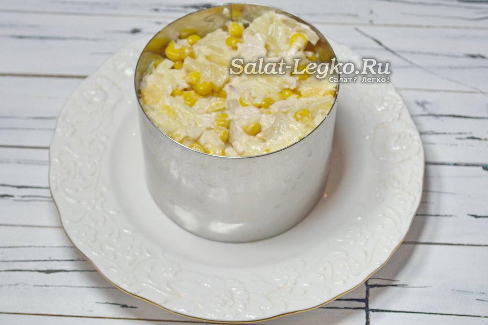 Салат сытый кум рецепт с 4