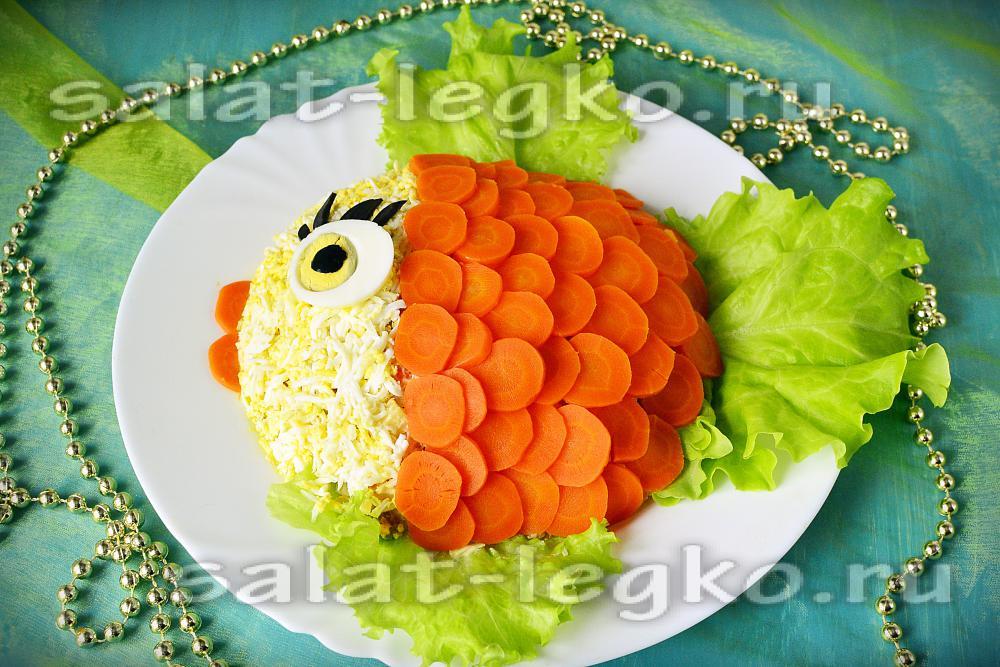 Интересные салат на день рождения ребенка