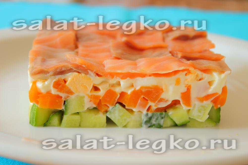 рецепт салата лагуна с фото