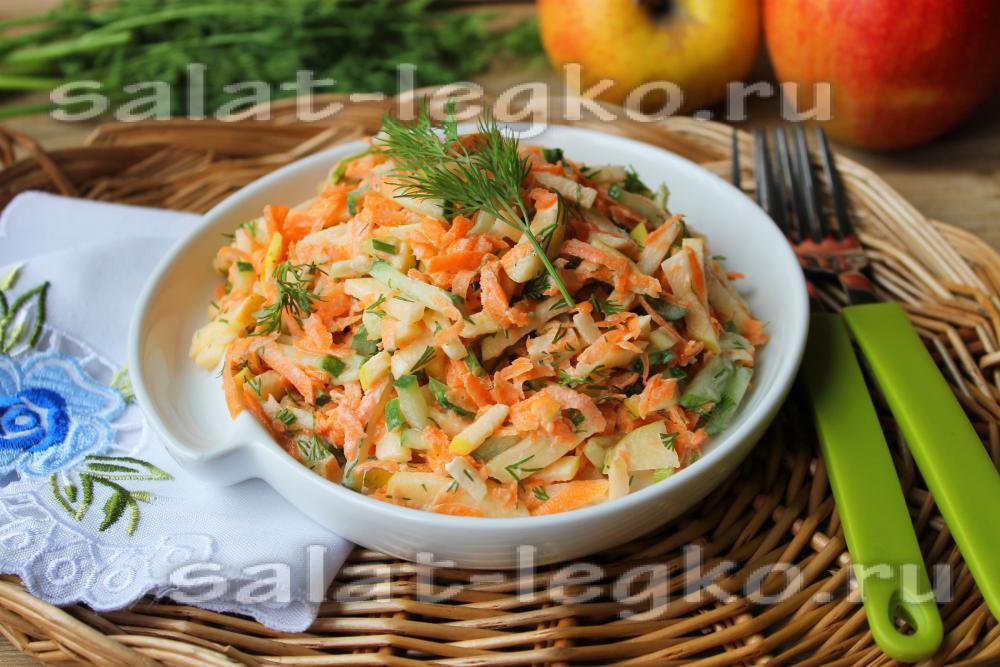Быстрый недорогой салат рецепт