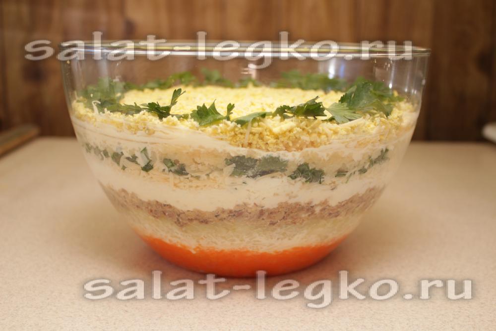 Салат мимоза рецепт маслом сливочным фото