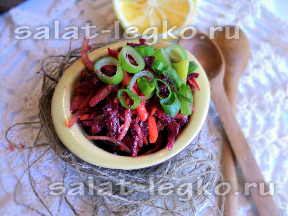 салат из свежей моркови и перца рецепт