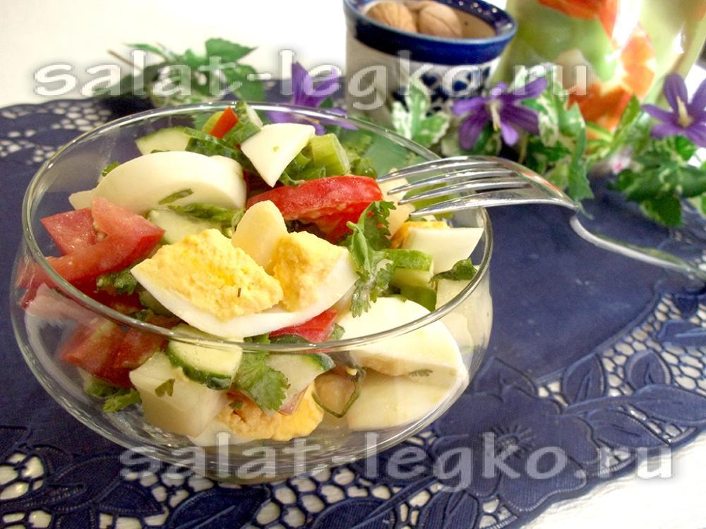 овощной салат рецепт простой для детей