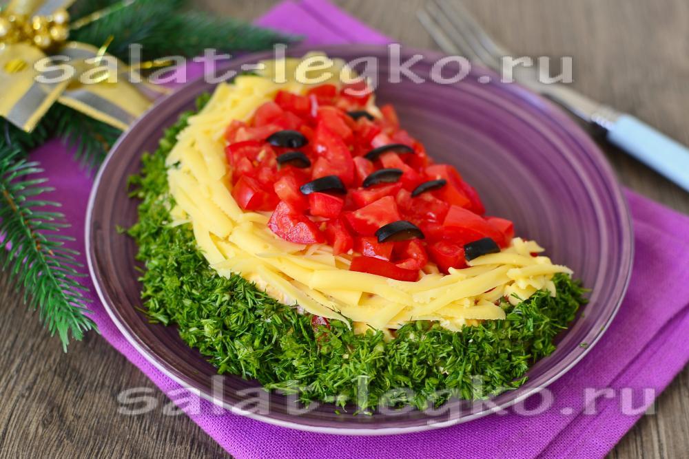 Фото рецепты пошагово салаты