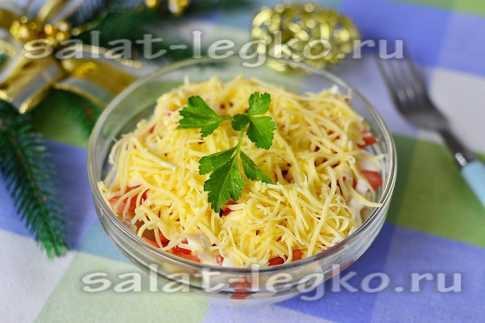 Салаты из ананасов рецепт с очень вкусный