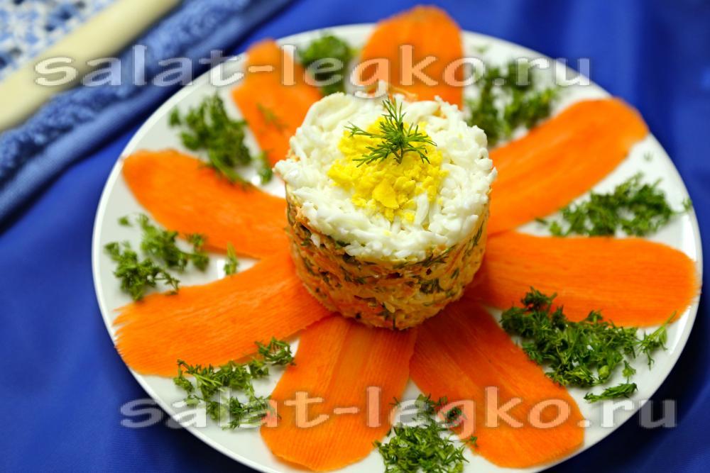 Салаты с курицей и плавленным сыром рецепт
