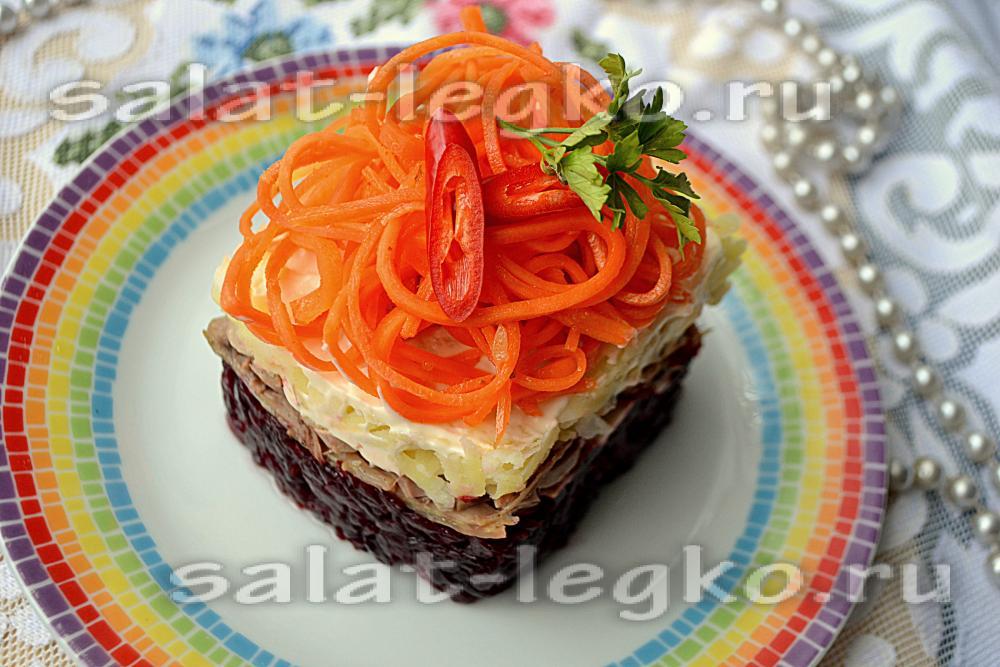 Салат с курицей - russianfood.com