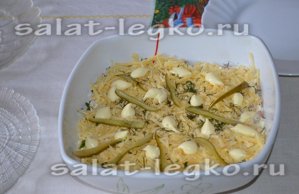 салат с тунцом пошаговое фото
