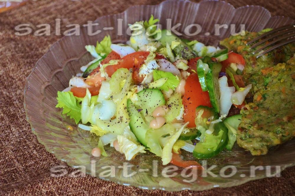 салаты из фасоли самые вкусные рецепты с фото