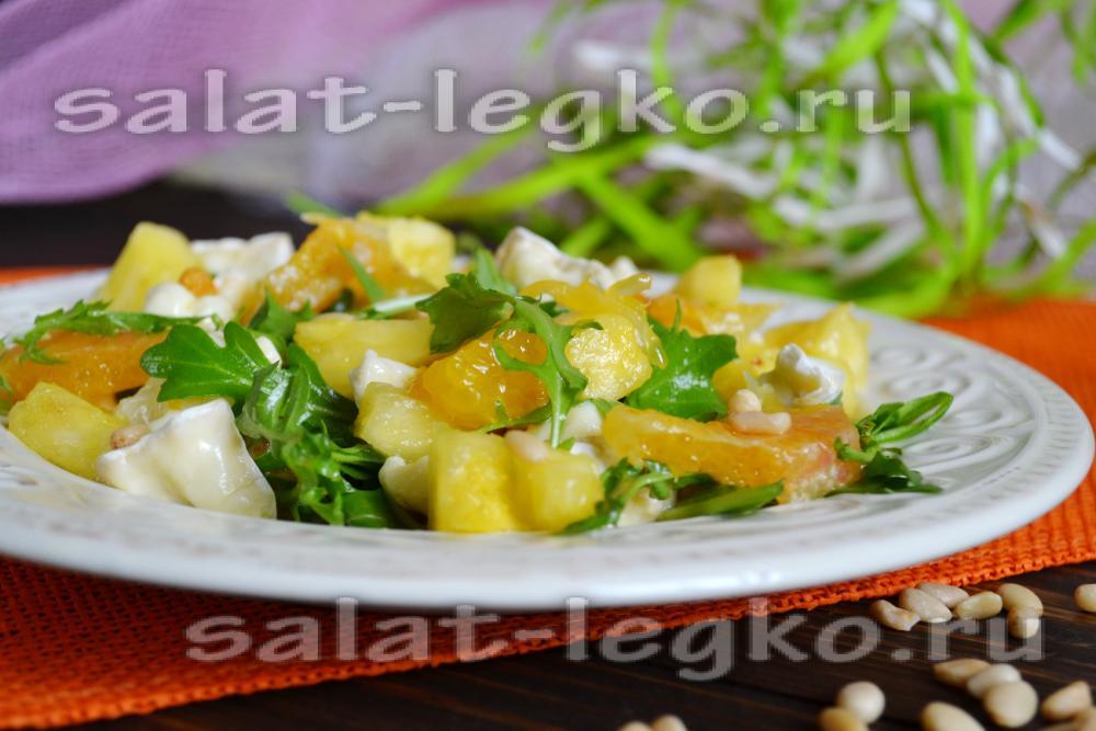 Фруктовый салат для детей рецепт простой 38