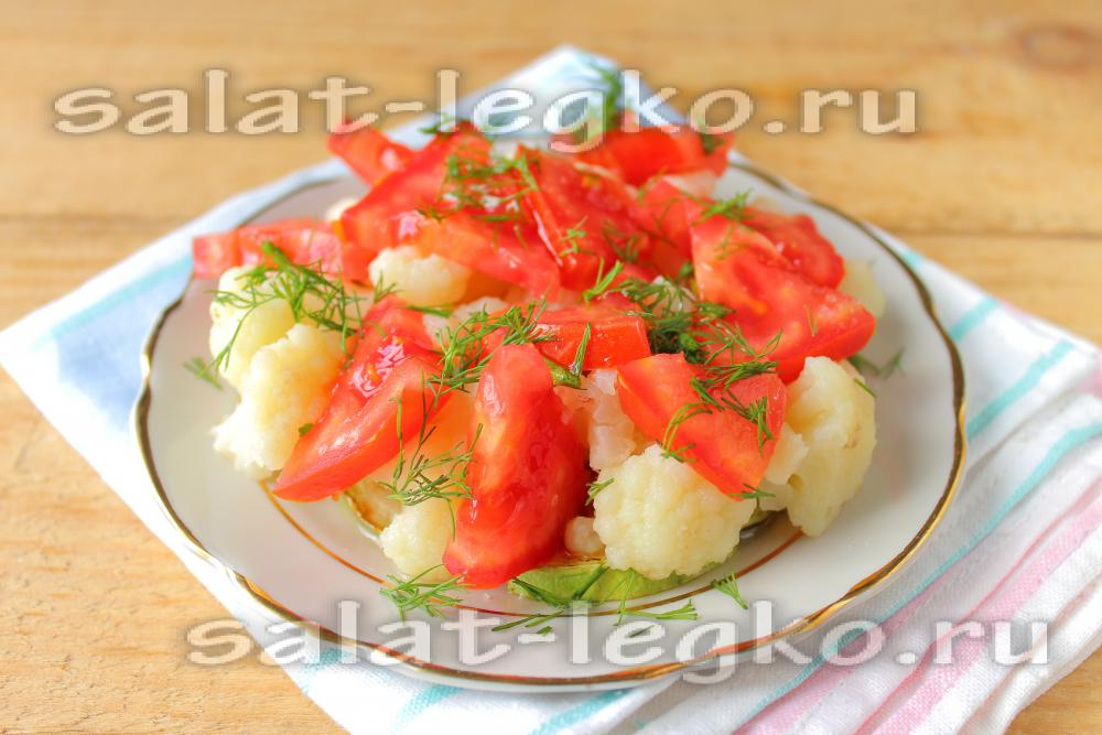 блюда из цветной капусты кабачков