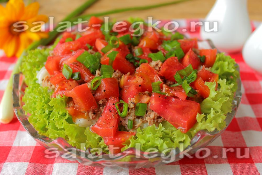 Рецепт салата с тунцом и рисом пошагово