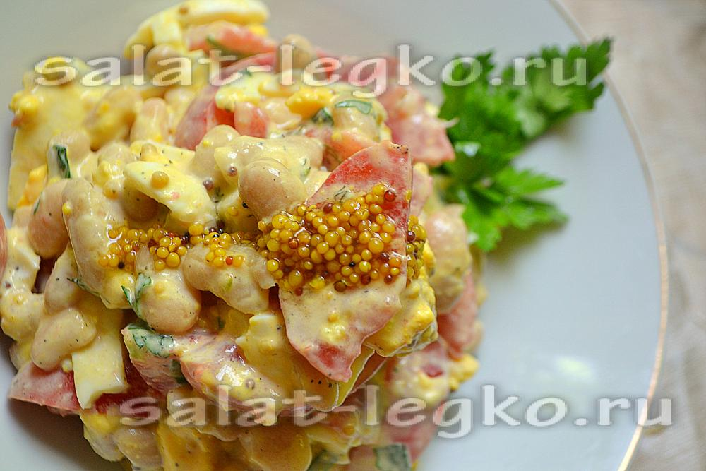 салат дамский с курицей рецепт с фото