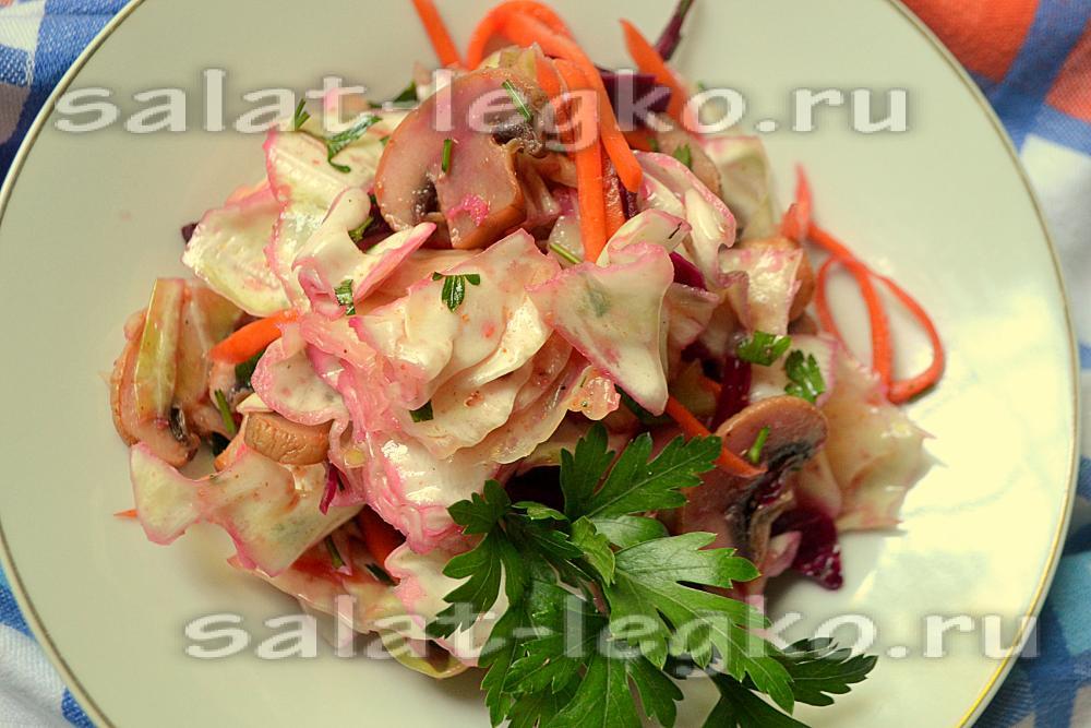 салат с капустой рецепт с свеклой по корейски