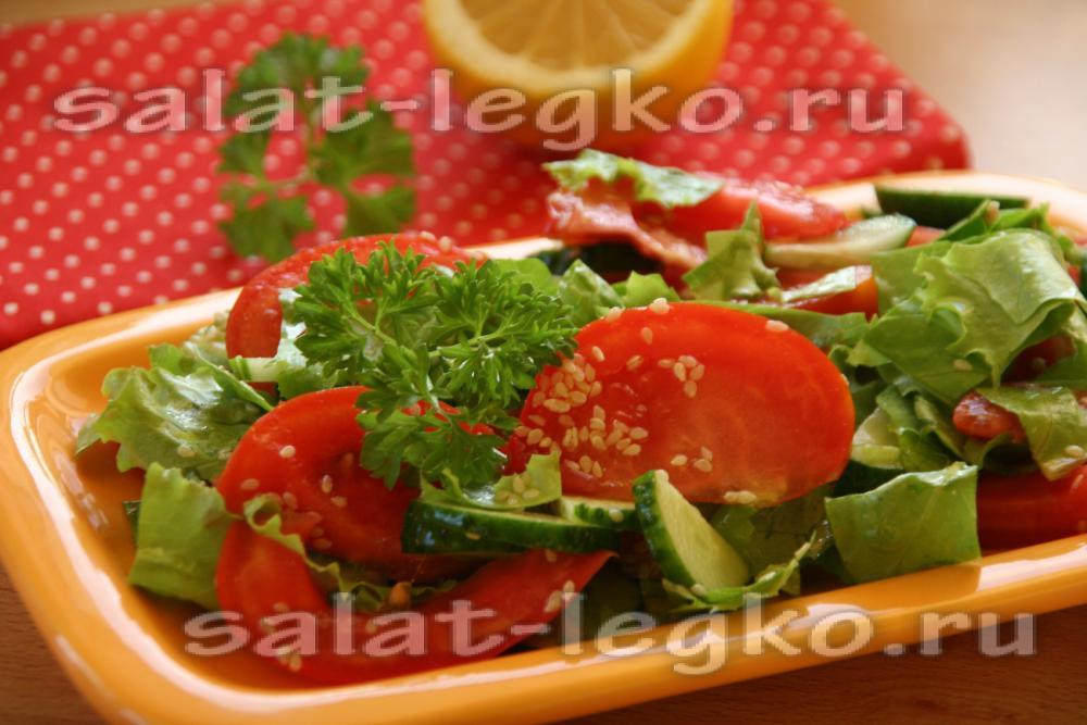 Как приготовить вкусный салат из свежихощей
