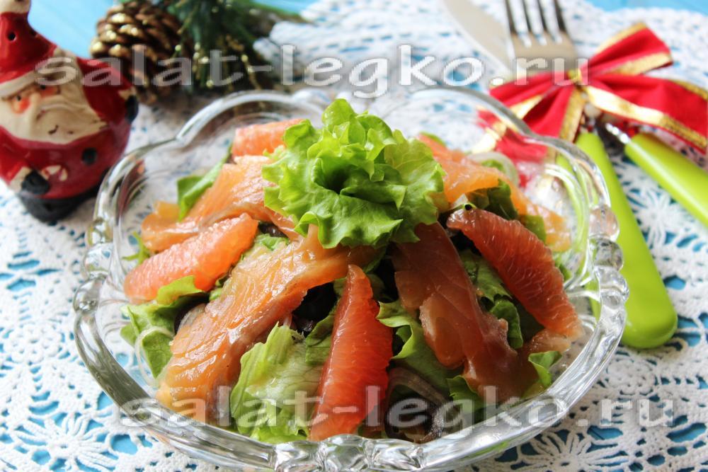 салат на новый год для тех кто на диете