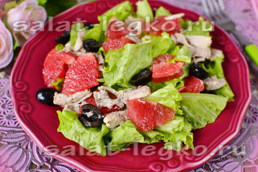 Зеленый салат рецепт пошагово