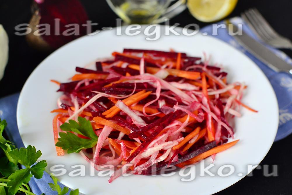 салаты из капусты диетические