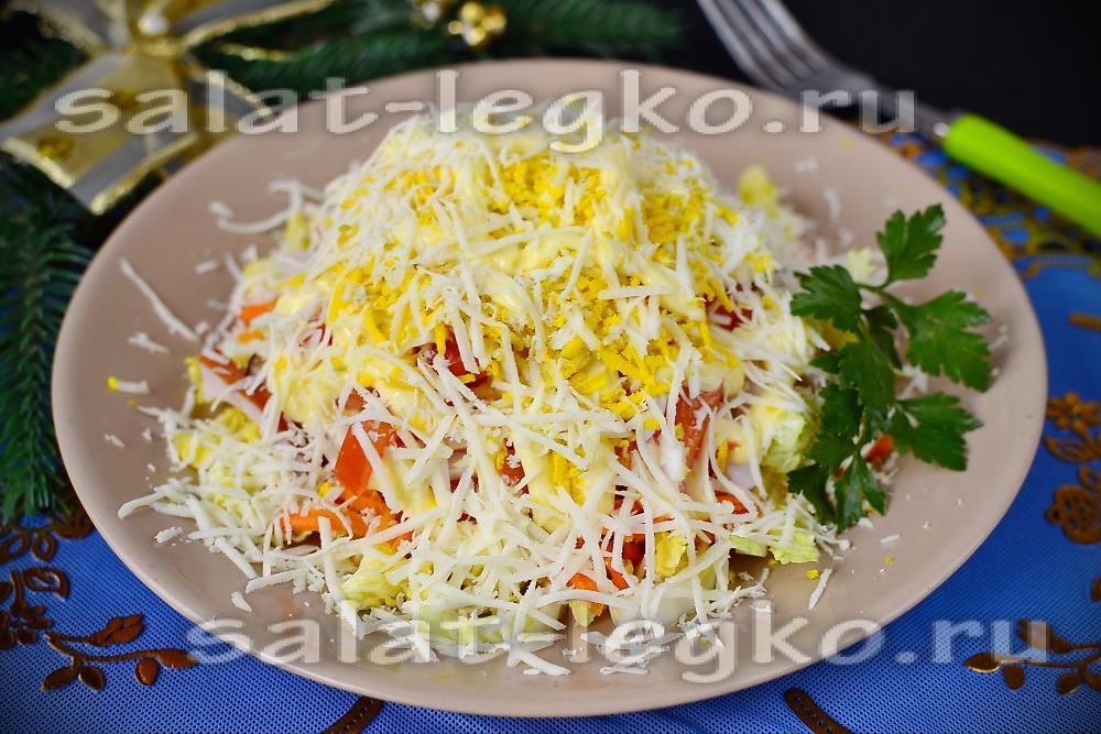 Салат мишат рецепт с