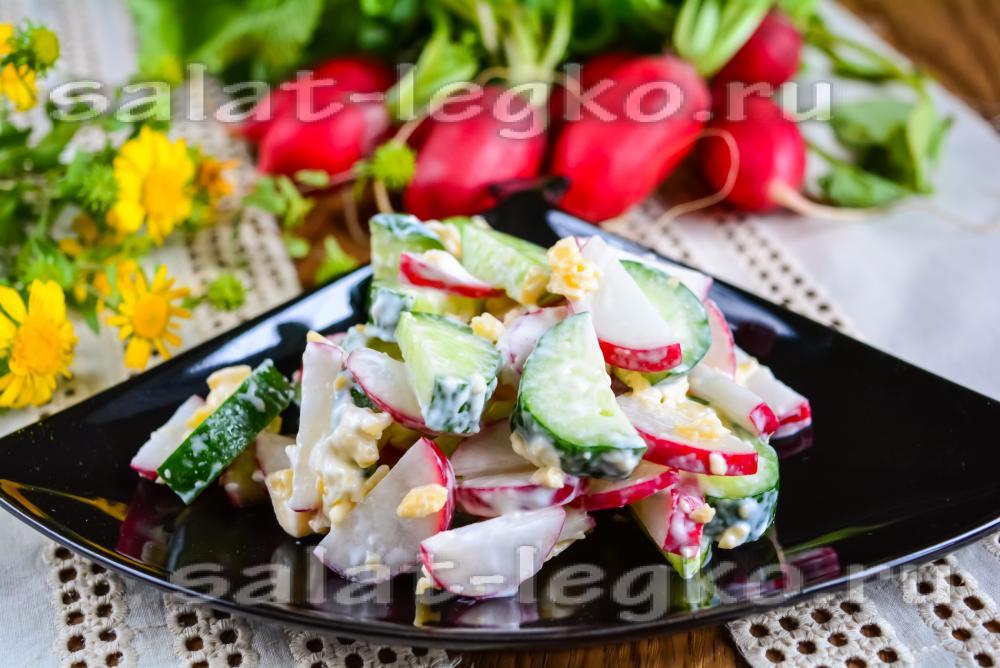 Рецепт быстрого салата на праздничный стол с