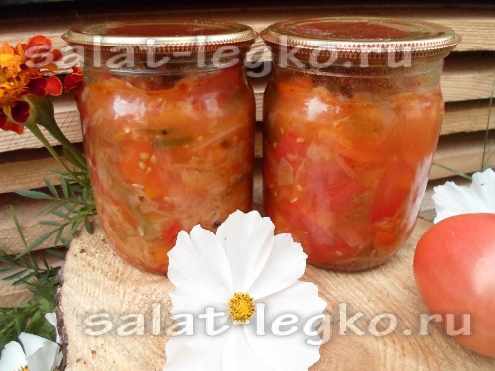 самые вкусные рецепты салатов из перца
