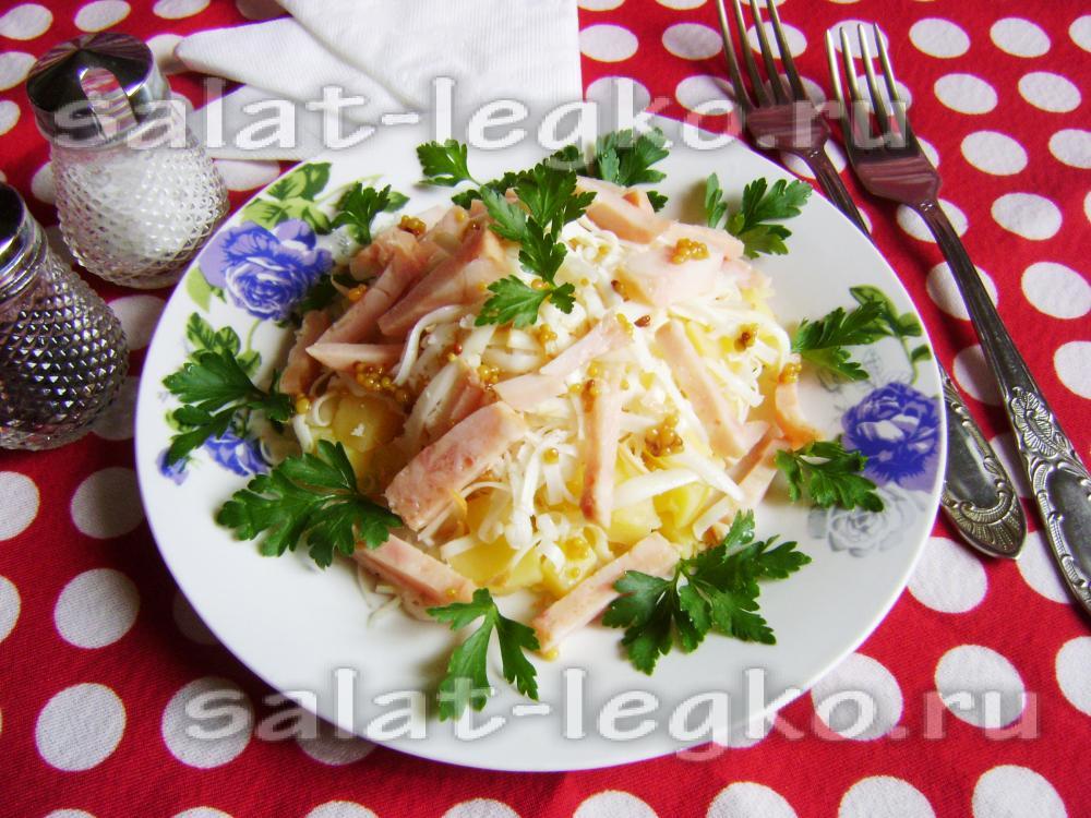 Салаты на пикник простые и вкусные рецепты