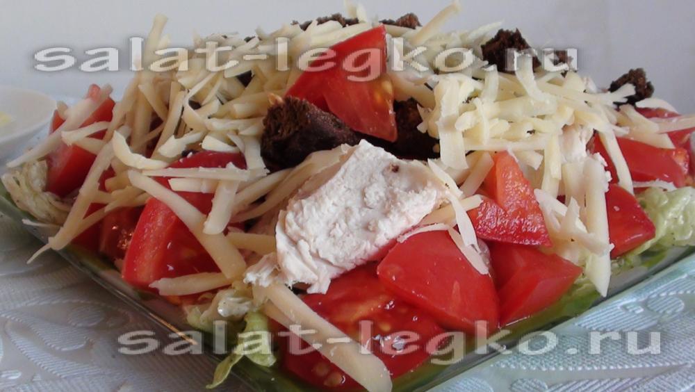 Салат из капусты свежей на скорую руку с